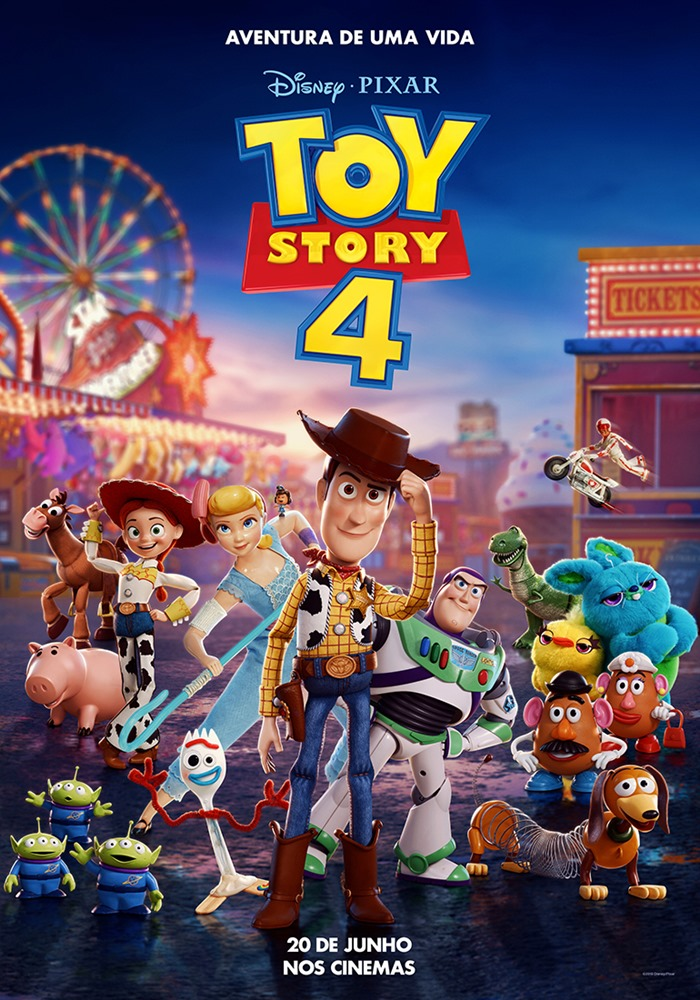 Capa do Filme Toy Story 4