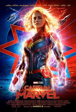 Capa do Filme Capitã Marvel